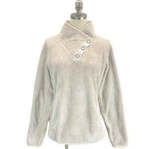 The North Face Deep Pile Fleece Snap Collar Jacket